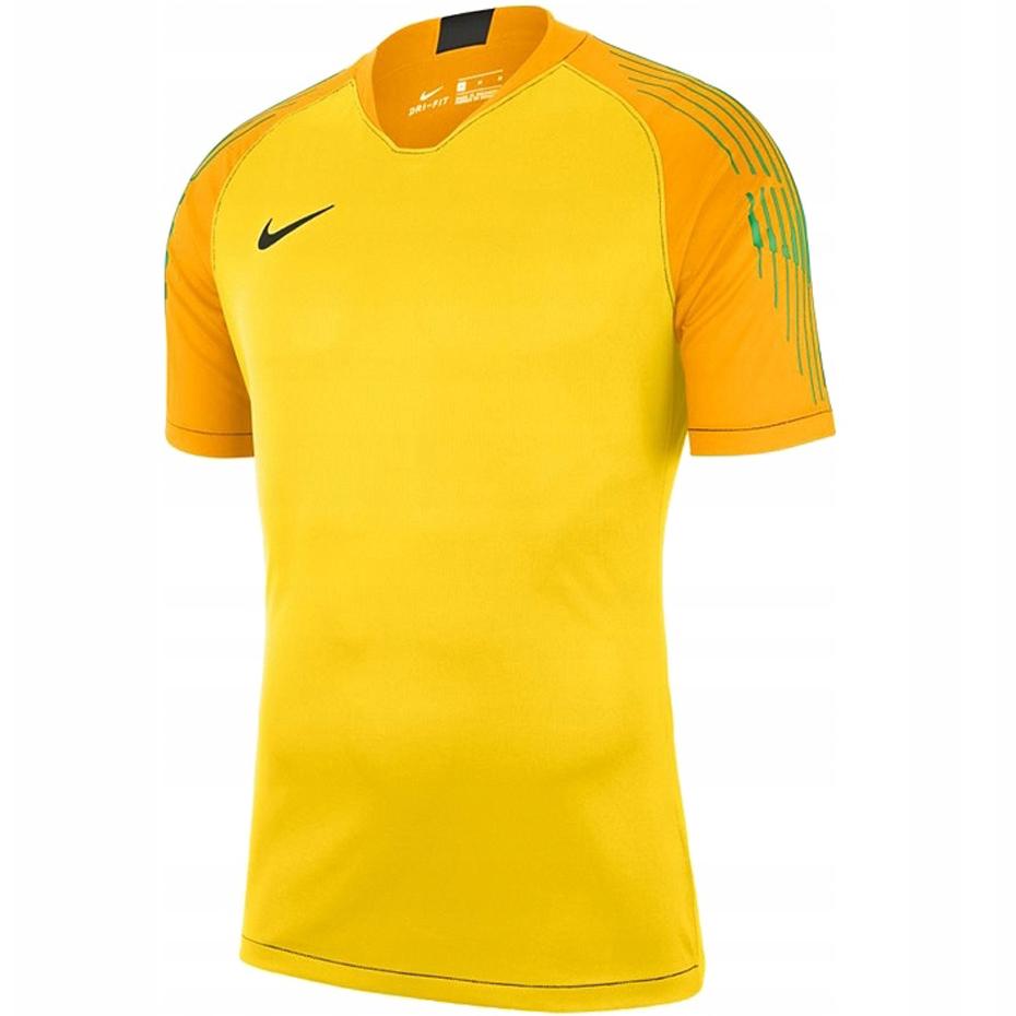 Koszulka bramkarska męska Nike Gardien II GK SS żółta 894512 719