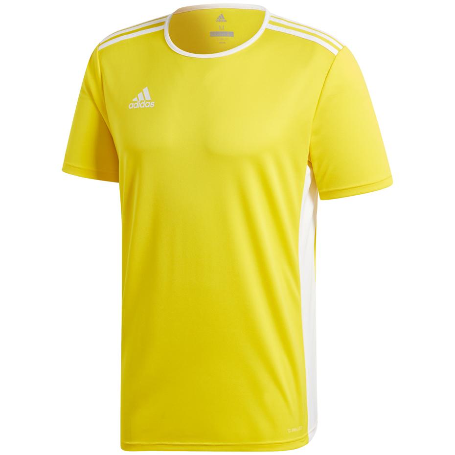 Koszulka męska adidas Entrada 18 Jersey żółta CD8390 Sklep