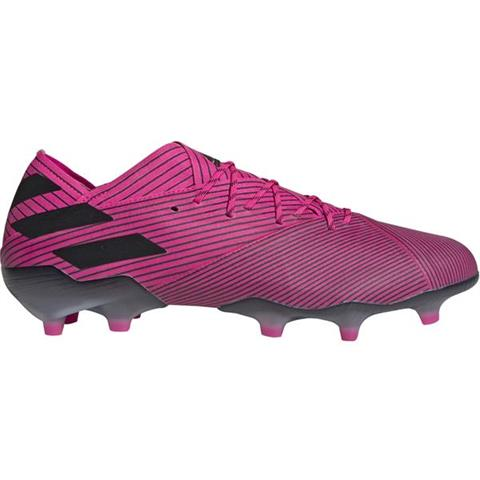 Buty piłkarskie adidas Nemeziz 19.3 FG biało niebieskie