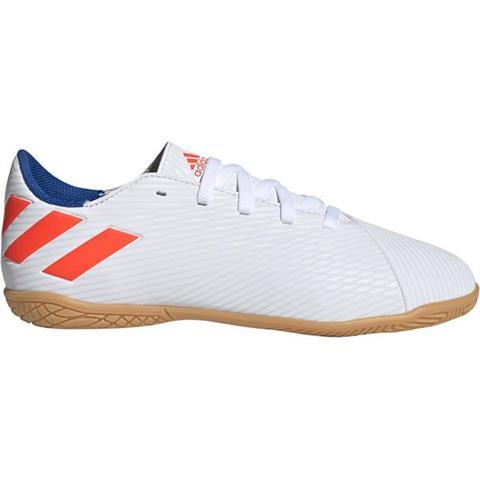Buty piłkarskie adidas Nemeziz Messi 19.4 IN JR białe F99928