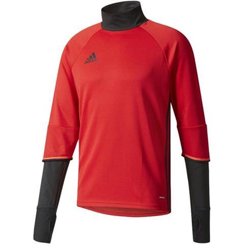BLUZA adidas CONDIVO 16 TRAINING TOP czerwono czarna S93542