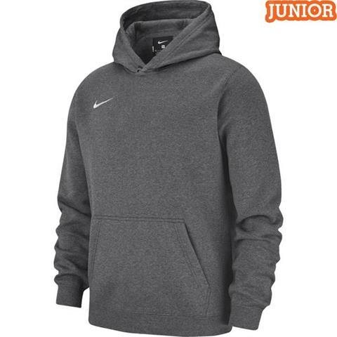 Bluza męska Nike Team Club 19 Fleece Hoodie PO szara AR3239 071 XL
