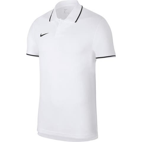 Koszulka męska Nike Team Club 19 Polo biała AJ1502 100