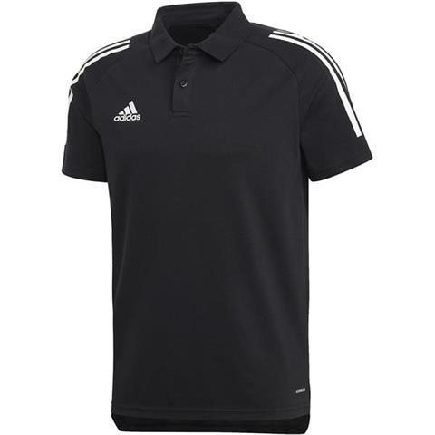 Koszulka męska adidas Condivo 20 Polo granatowo biała ED9245