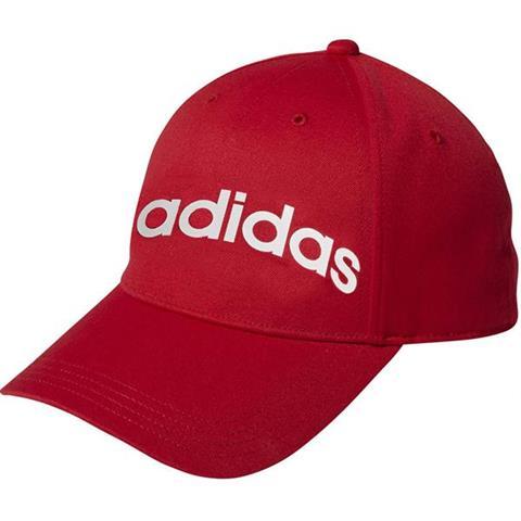 Czapka z daszkiem dla dzieci adidas Daily Cap OSFC czerwono biała EC4703
