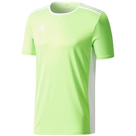 Koszulka męska adidas Entrada 18 Jersey limonkowa CE9758